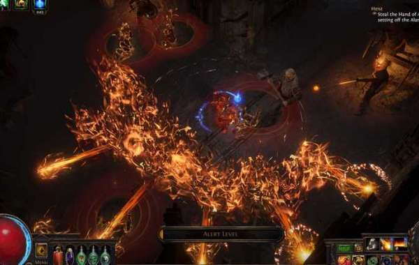 Path of Exile: Regular use of skills can increase their level